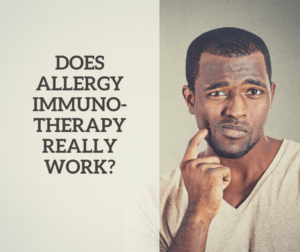 Does Allergy Immunotherapy Really Work Canyon View ENT